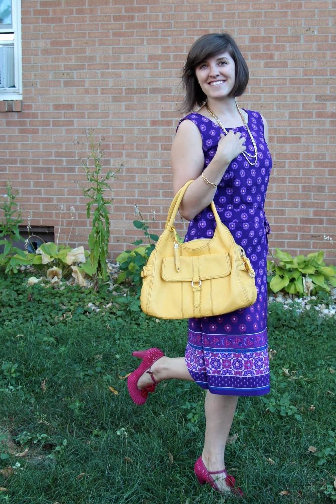 Indian Wrap Dress