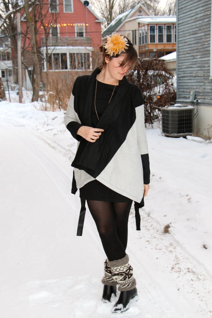 BB Dakota Wrap Sweater