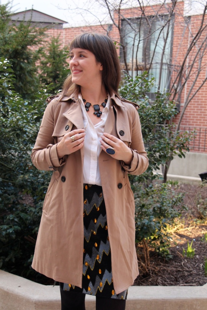 club monaco trenchcoat 1