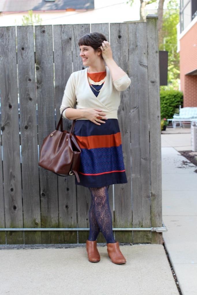 thrifted ann taylor dress