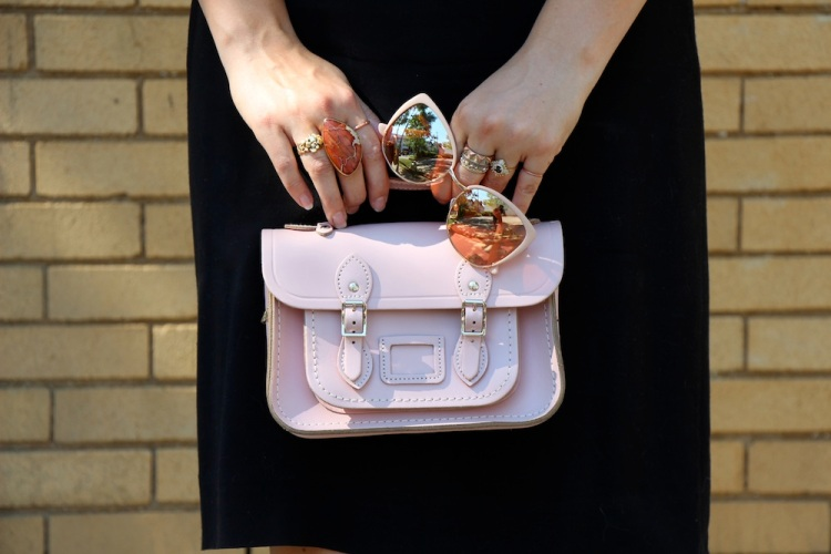 soft pink accessories