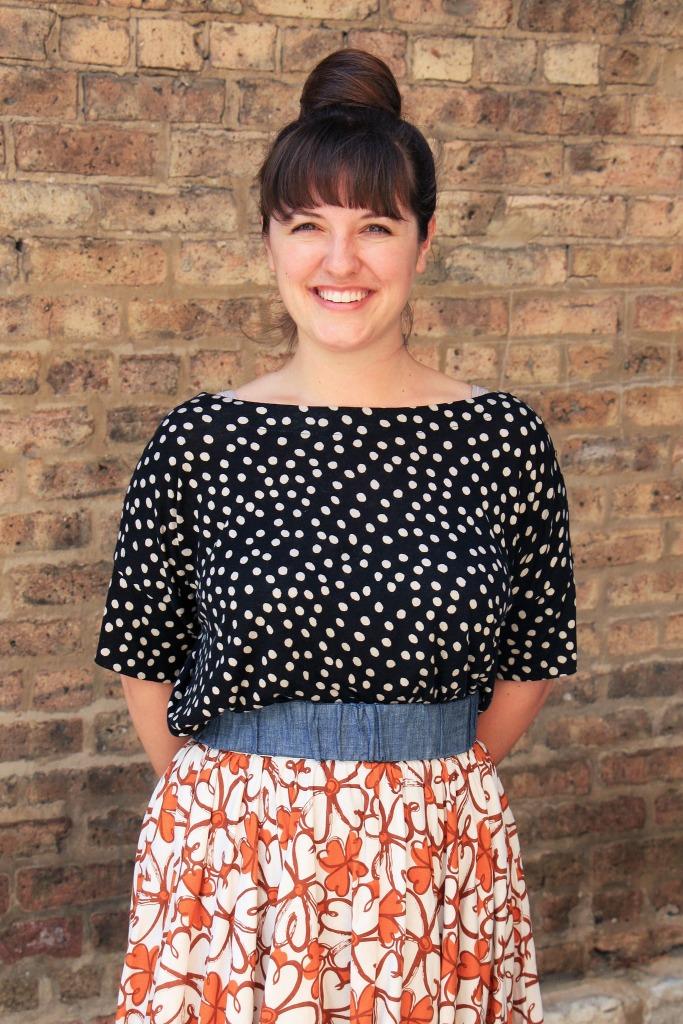 polka-dots-and-floral-skirt